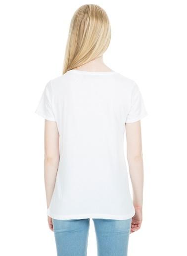 Lela Tişört Beyaz